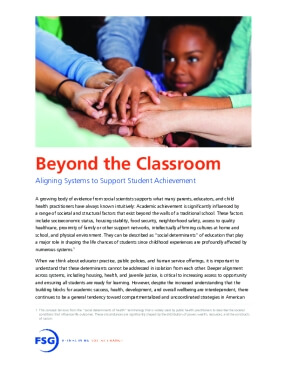 Beyond the Classroom: Aligning Systems to Support Student Achievement